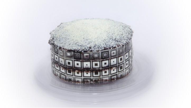 Торт «Черное и белое»